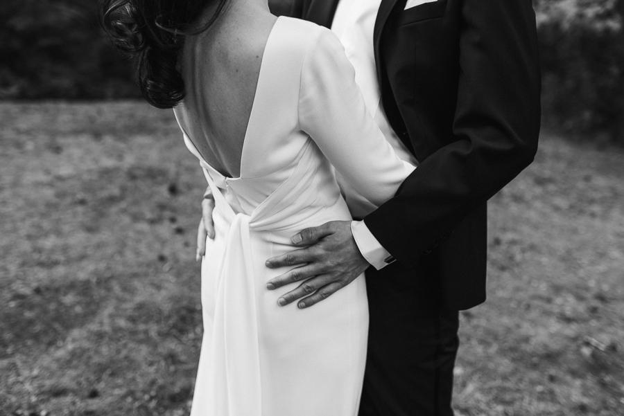Detailfoto Hochzeitspaar