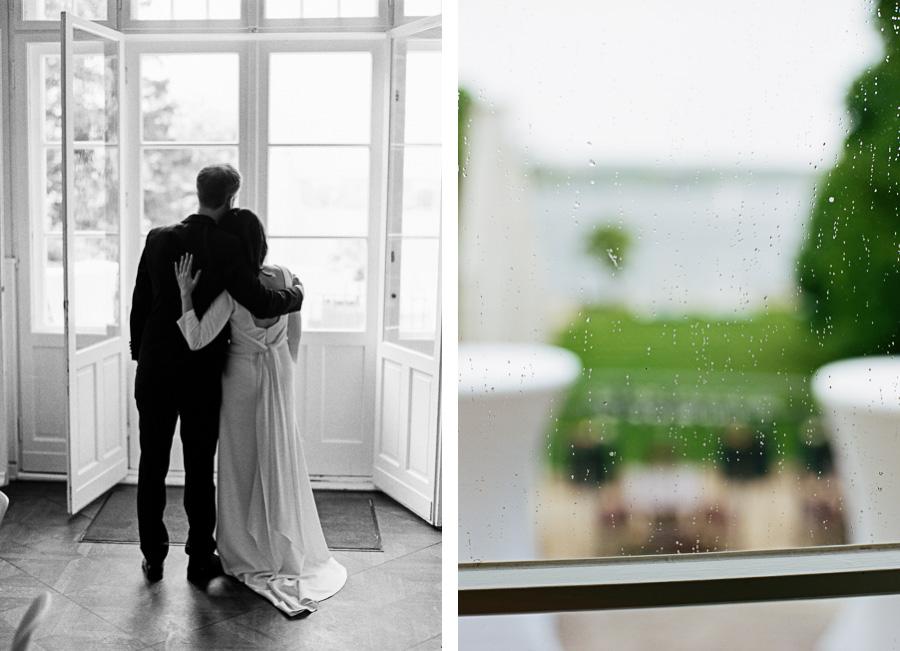 Hochzeitsfoto in der Villa Blumenfisch