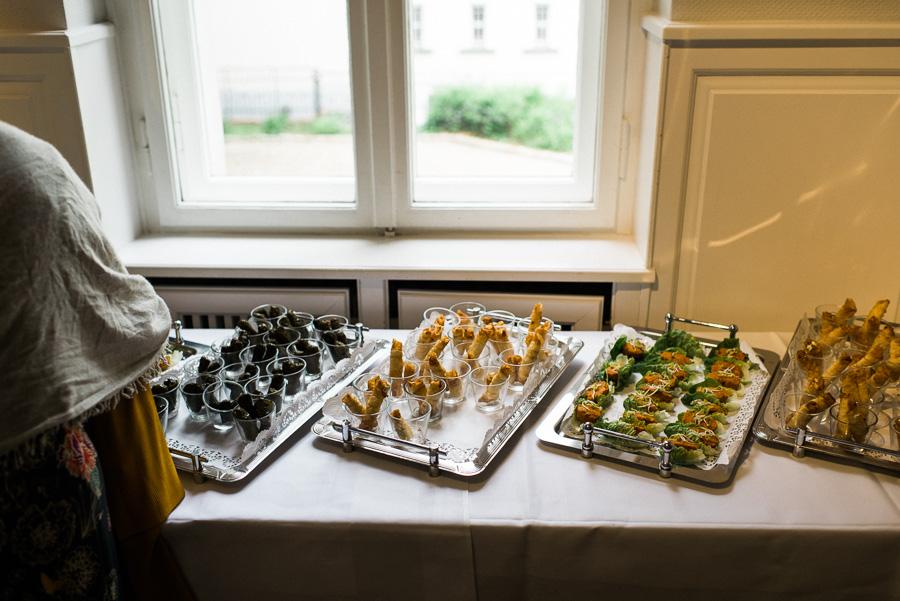 Türkische Köstlichkeiten am Hochzeitsbuffet