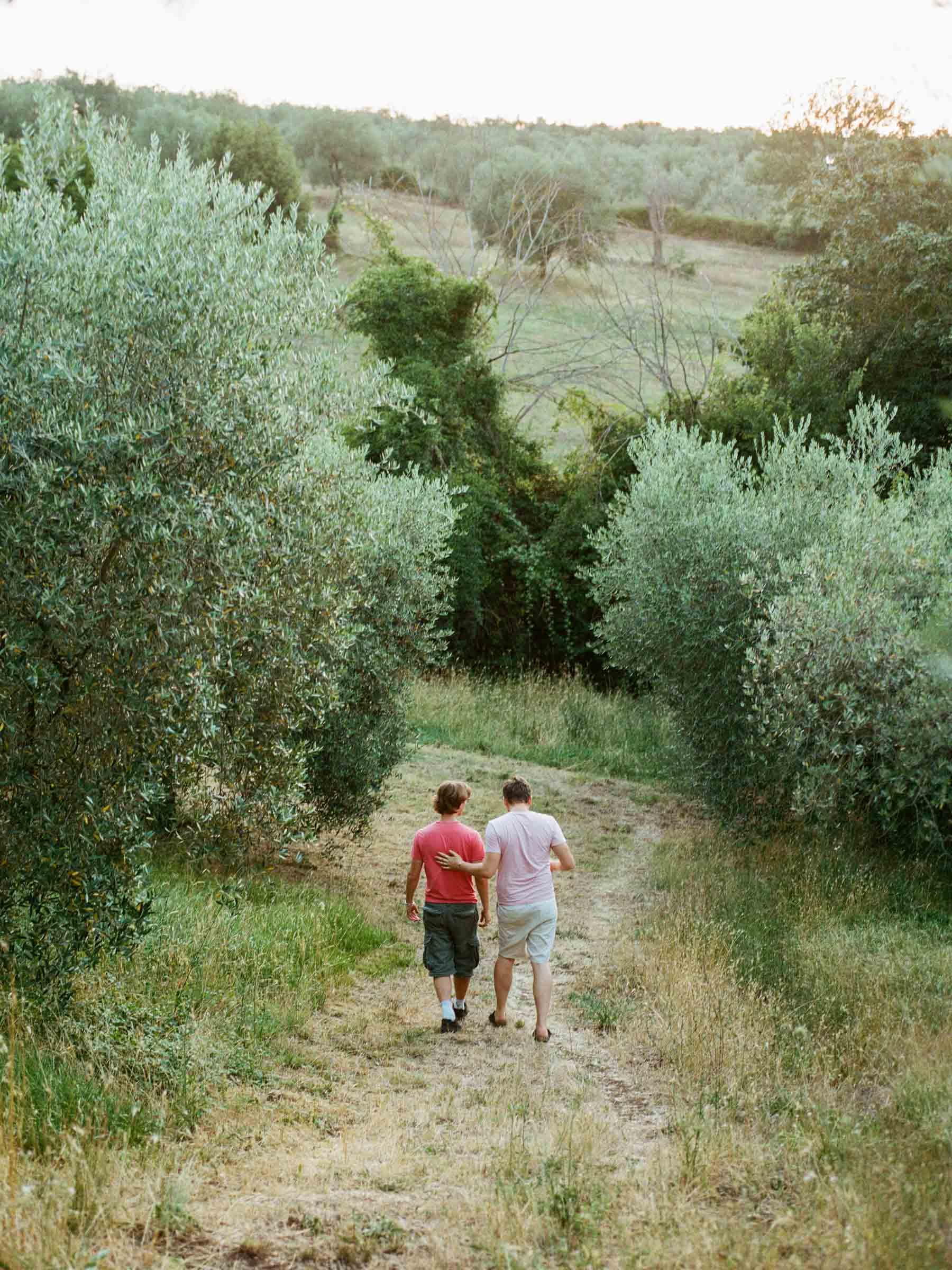 Hochzeitsshooting im Olivenhain