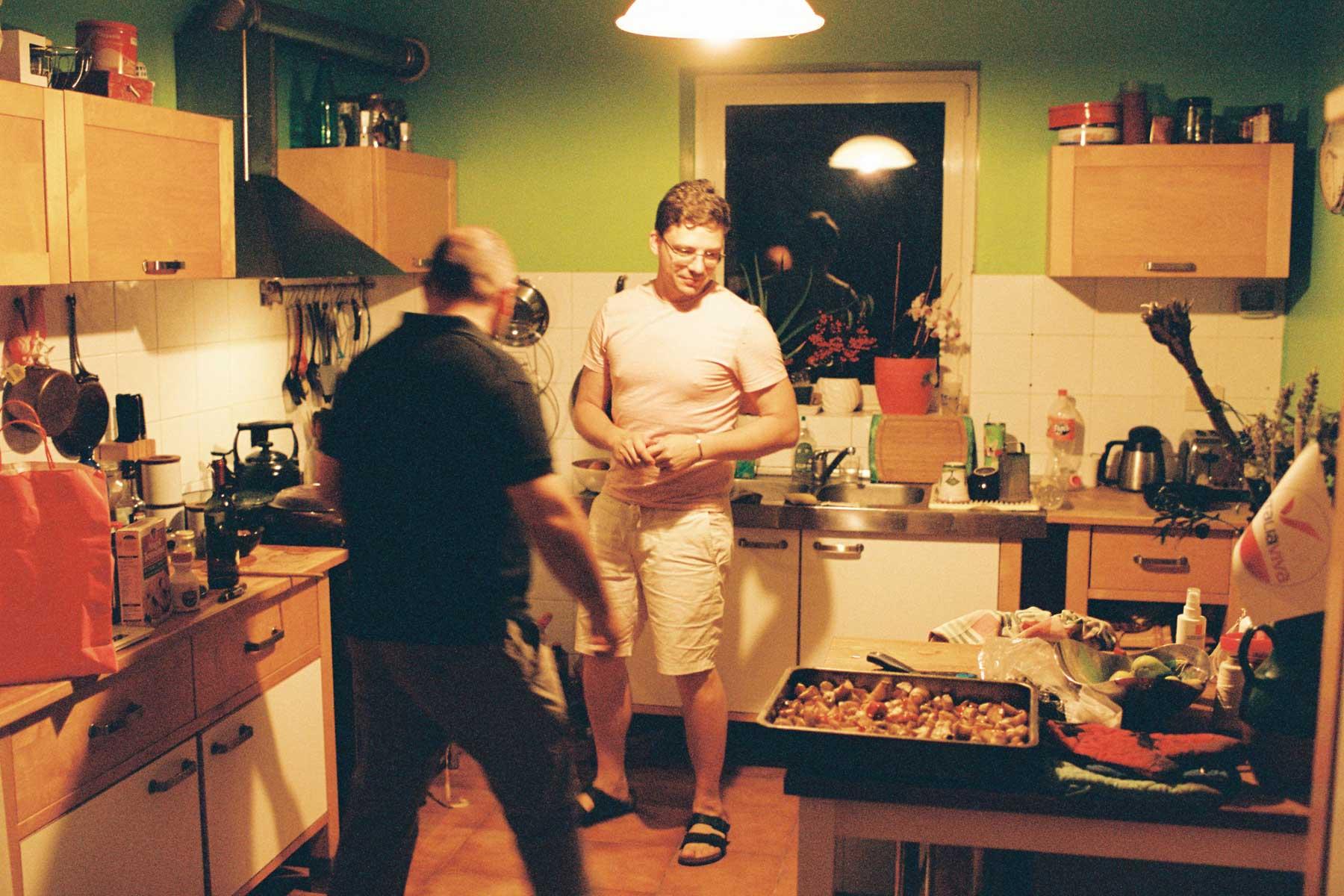 Küchenszene bei Hochzeit