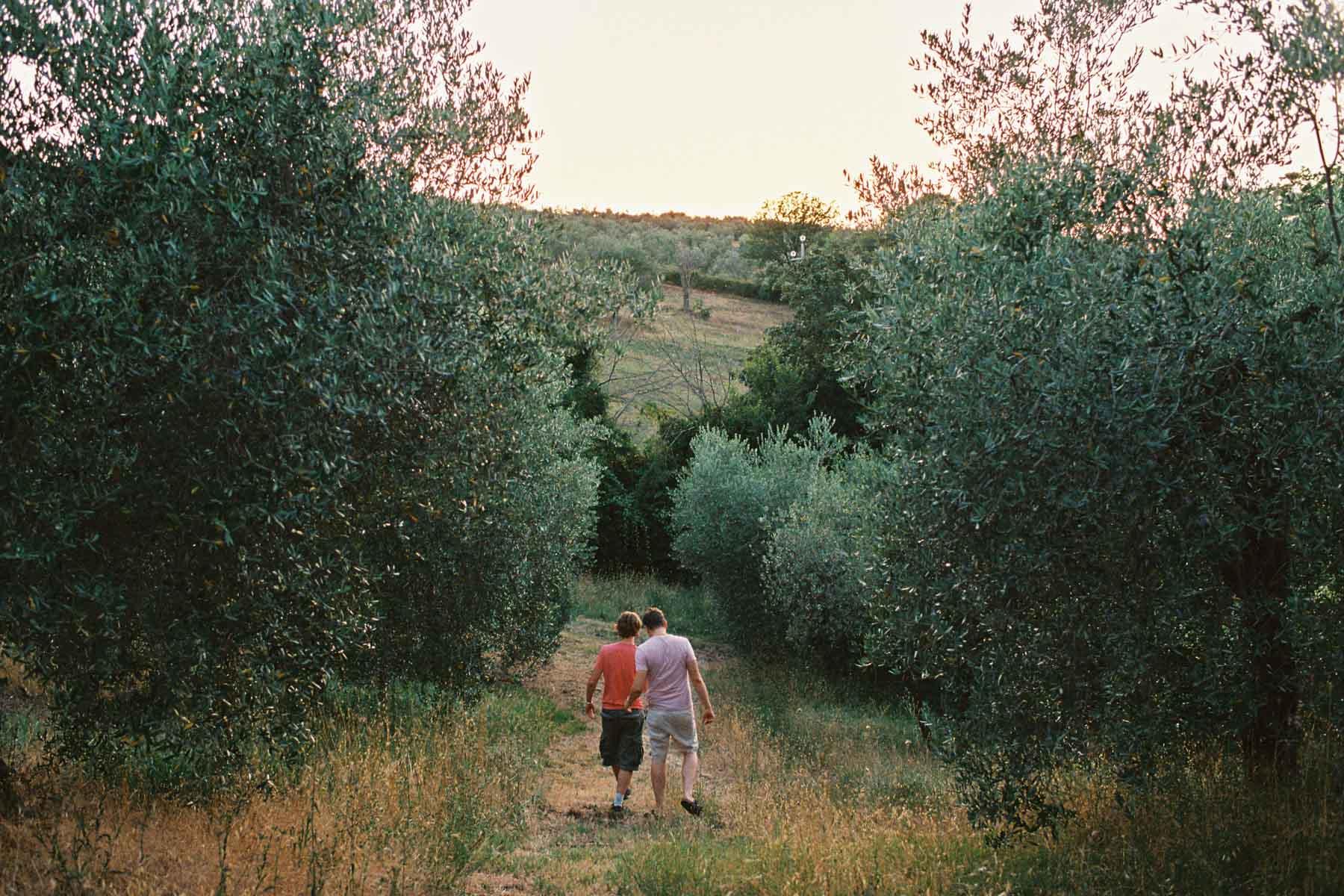 Landhochzeit in Italien